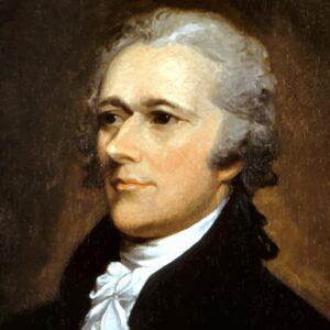 Alexander Hamilton on a $10 bill